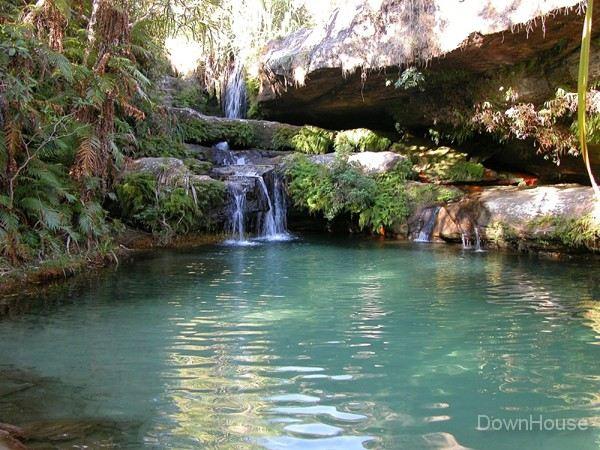 Остров Мадагаскар. Водопад