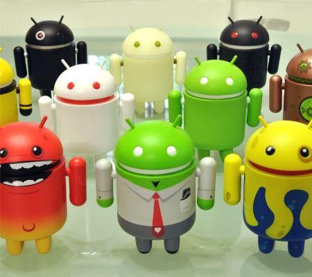 Android набирает популярность