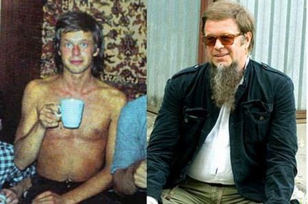 Борис Гребенщиков в молодости был голубоглазым красавцем