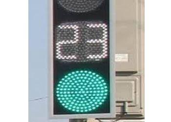 В Таганроге начал работать ультратонкий светодиодный светофор