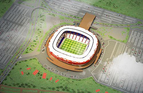 Проект стадиона «Юбилейный» в Саранске