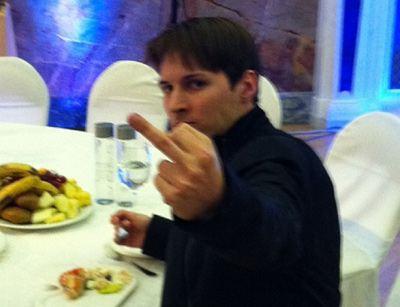 От Павла Дурова ожидают только одной реакции