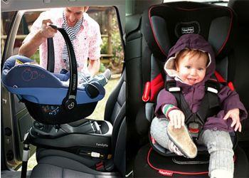 Автокресло спасет жизнь ребенка
