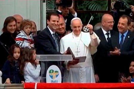 Понтифик посетил Бразилию