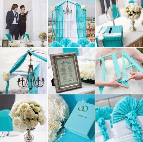 Единство стиля - вот что украшает свадьбу
