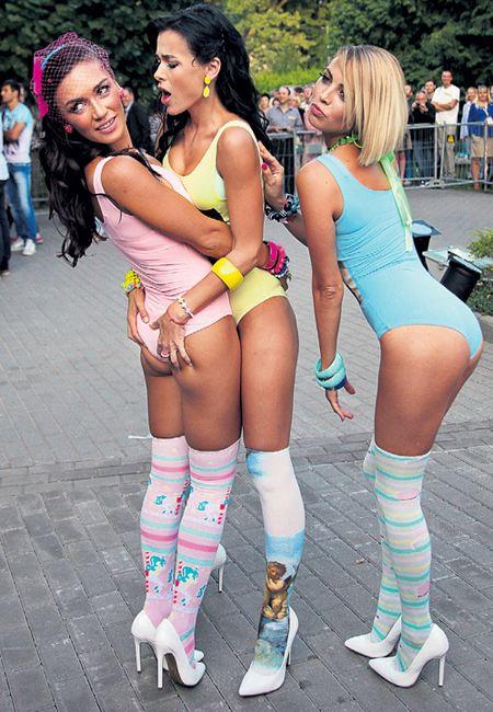 Девушки из группы «Серебро» совсем потеряли стыд