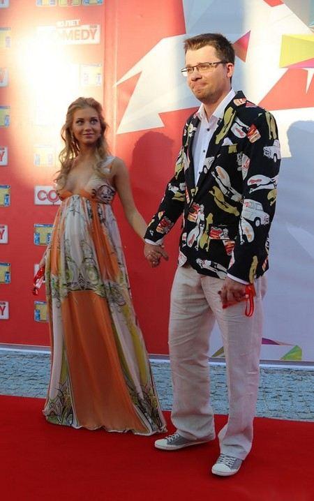 Звездная пара: Кристина Асмус и Гарик Харламов ждут ребенка.