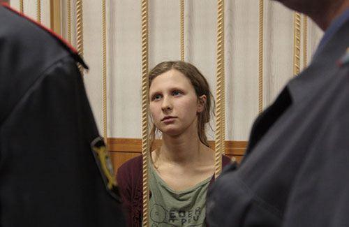 Мария Алехина из Pussy Riot