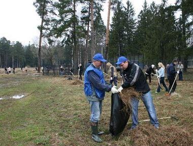 Подготовка территории под строительство парка