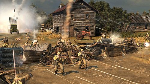 Скриншот из игры Company of Heroes 2