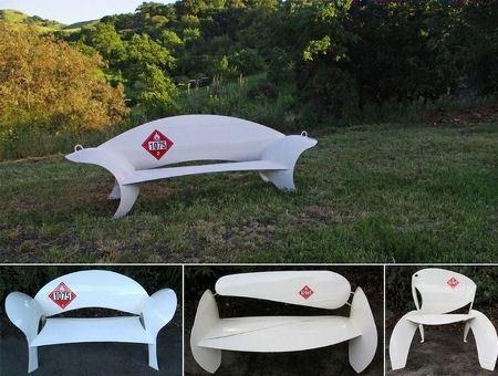 Чудесная скамейка