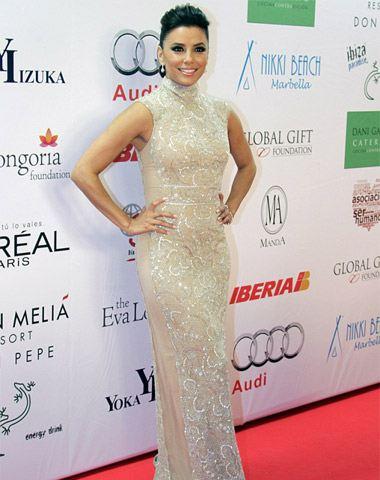 Ева Лонгория в шикарном платье
