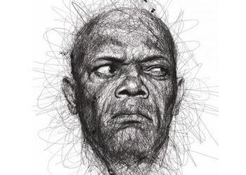 Лоу создал впечатляющие портреты Голливудских знаменитостей