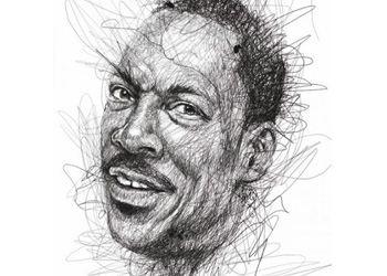 Художник написал реалистичные портреты знаменитых людей