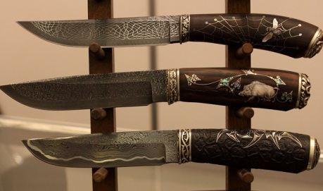 Авторские ножи покоряют своей необычностью