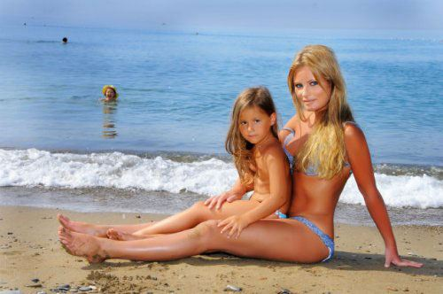 Фото: Дана Борисова и ее дочь Полина