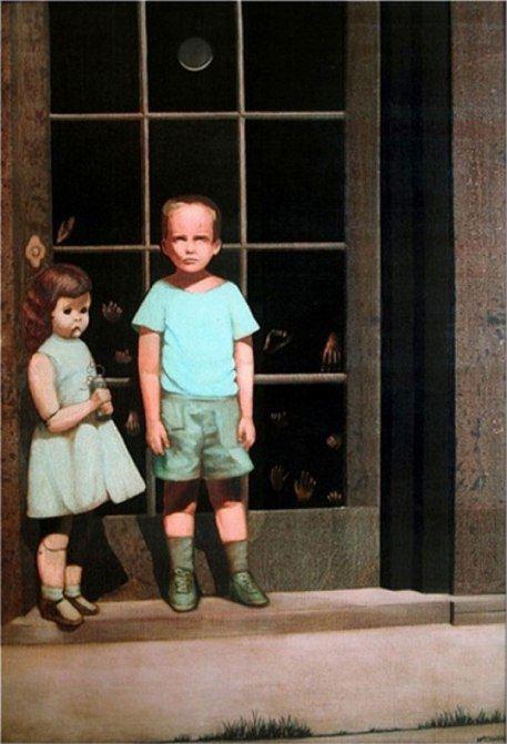 Картина Билла Стоунхэма Hands Resist Him (Руки противятся ему), 1972