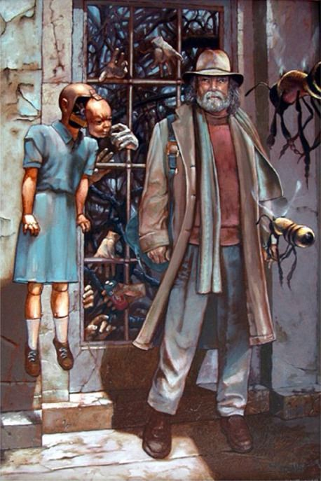 Картина Билла Стоунхэма Resistance at the Threshold (Сопротивление на пороге), 2004