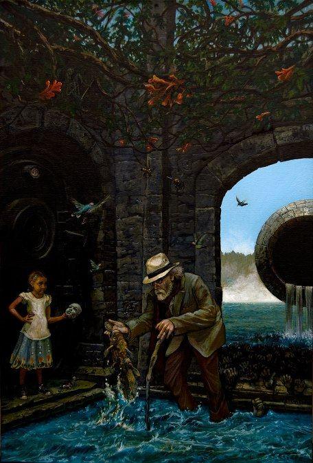 Ещё одна из странных картин Билла Стоунхэма Порог откровения, 2012