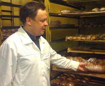 Вячеслав Громов - основатель и директор пекарни «Ильинка»