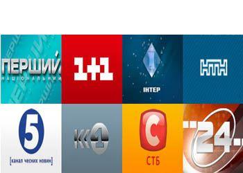 Назван самый популярный телеканал Украины