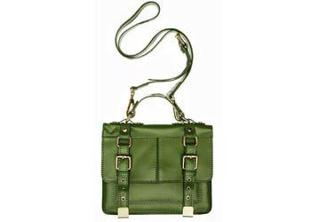 В коллекцию осень-2013 River Island вошла сумка-портфель лаймового цвета