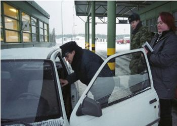 Российско-финляндскую границу можно сегодня пересечь без очередей