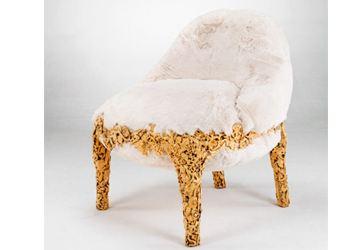 Шикарное изобретение братьев Кампан - белый пушистый диван