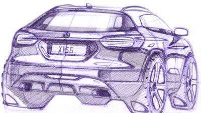 Mercedes GLA с любой стороны выглядит впечатляюще