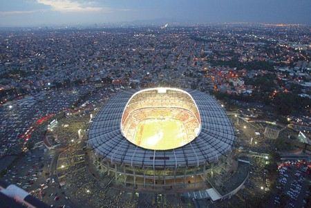 Ацтека - самый большой стадион в Латинской Америке