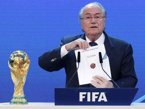 Остается наедяться, что в ФИФА не пожалеют о своем решении отдать ЧМ-2018 России