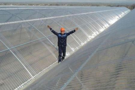 Прозрачная крыша обеспечит естественное освещение