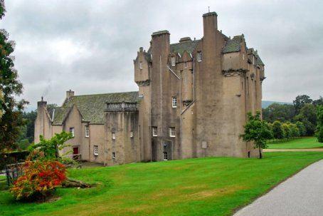 Шотландский замок Крейзес