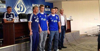 Recruits Dynamo Alexander Kokorin, Yuri Zhirkov and Igor Denisov