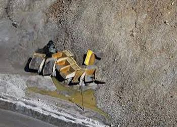 Оползень в Якутии уже засыпал два километра автомобильной трассы