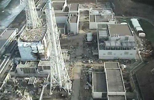 Фото: Фукусима 1 после аварии
