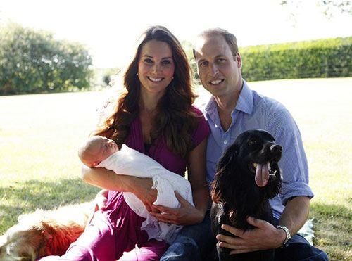 Фото сына Кейт Миддлтон и принца Уильяма, имя мальчика - Джордж