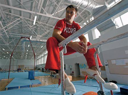 Gymnast Alexey Nemov won all sorts of awards