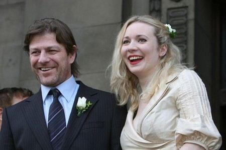 Шон Бин с четвертой женой Джорджиной Сатклифф прожил всего два года