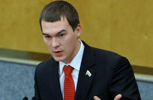 Михаил Дегтярев, депутат от ЛДПР