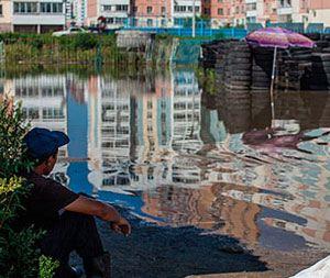 Наводнение в Хабаровске также грозит оставить людей без крова