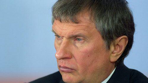 Глава компании Роснефть Игорь Сечин