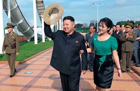 Ким Чен Ын и его новая подружка