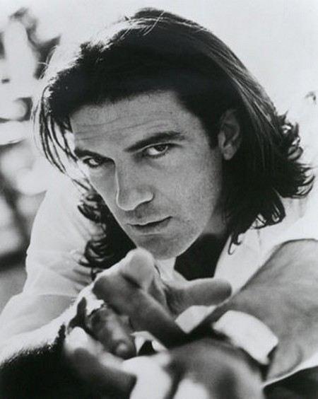 Антонио Бандерас в молодости