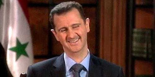 Лидер Сирии Башар Асад