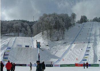 «Роза Хутор» в феврале 2014 года примет олимпийские состязания по сноуборду и фристайлу