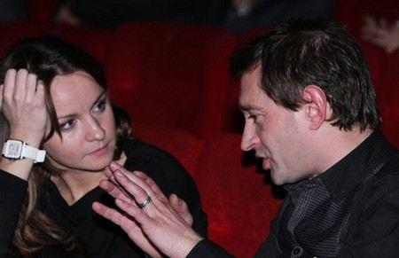 Константин Хабенский тайно женился на Ольге Литвиновой.