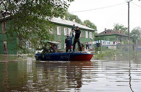 Фото: Наводнение на Дальнем Востоке в 2013 году