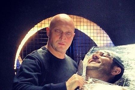 Гоша Куценко опубликовал фото в образе Декстера и Люка Скайвокера.