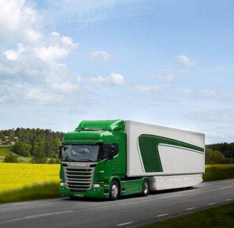 Скания - один из самых востребованных видов грузового транспорта